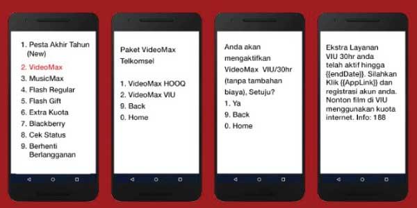 Cara Mengatasi Kuota Videomax Tidak Bisa Digunakan