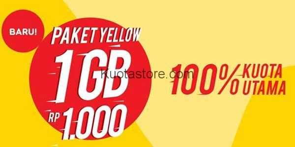Cara Cek Kuota Paket Yellow Indosat