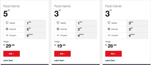 Paket internet harian telkomsel murah