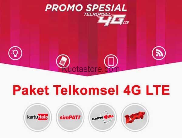 Paket Internet Telkomsel 4G