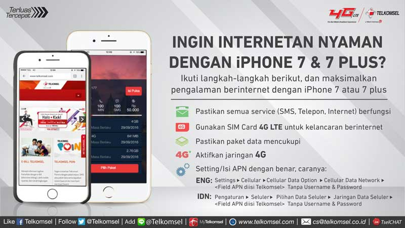 Paket Internet iPhone Telkomsel