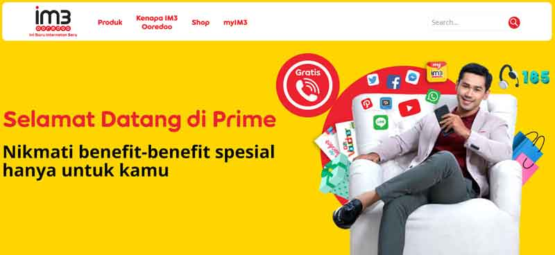 Daftar Harga Lengkap Paket Prime Indosat IM3 & Cara Mengaktifkannya