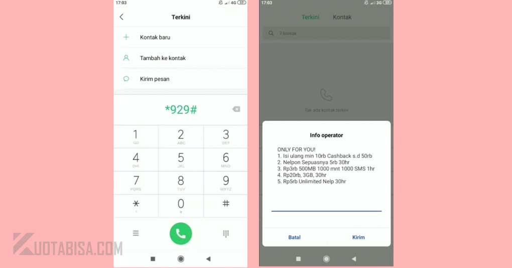 Paket Internet Indosat Murah 20 ribu 3GB