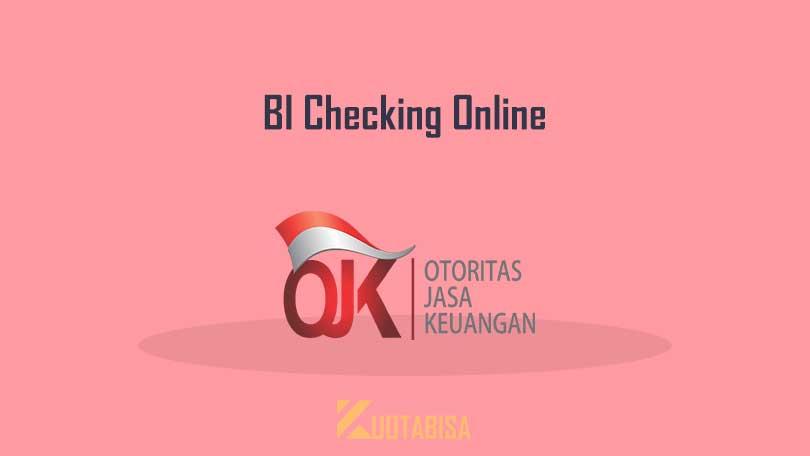 Cara Cek BI Checking di SLIK OJK Online