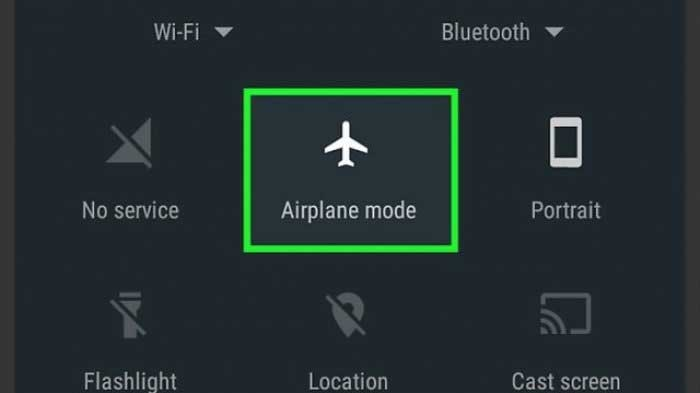 Cara Internet Gratis Mode Pesawat
