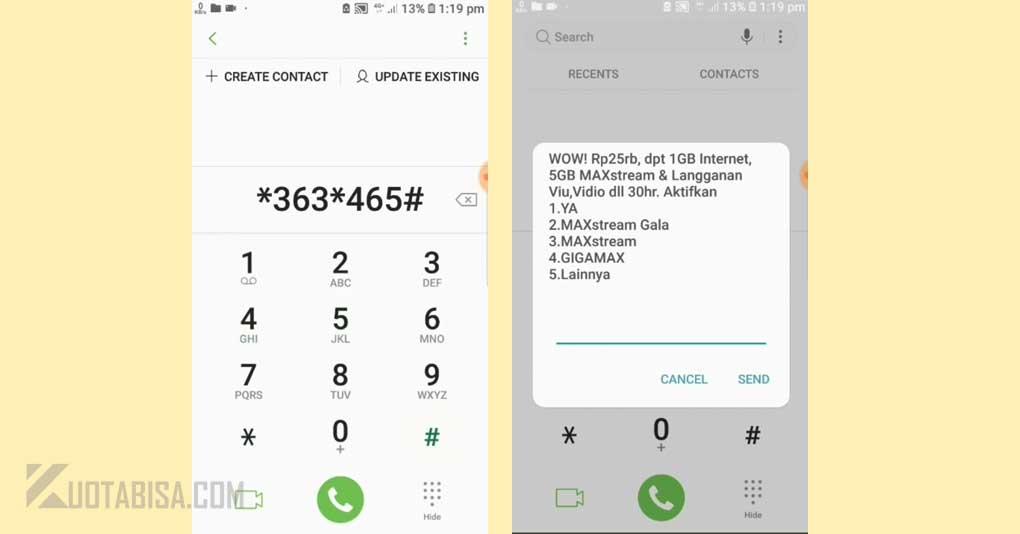 Kode Dial Kuota Telkomsel 6GB 25 Ribu