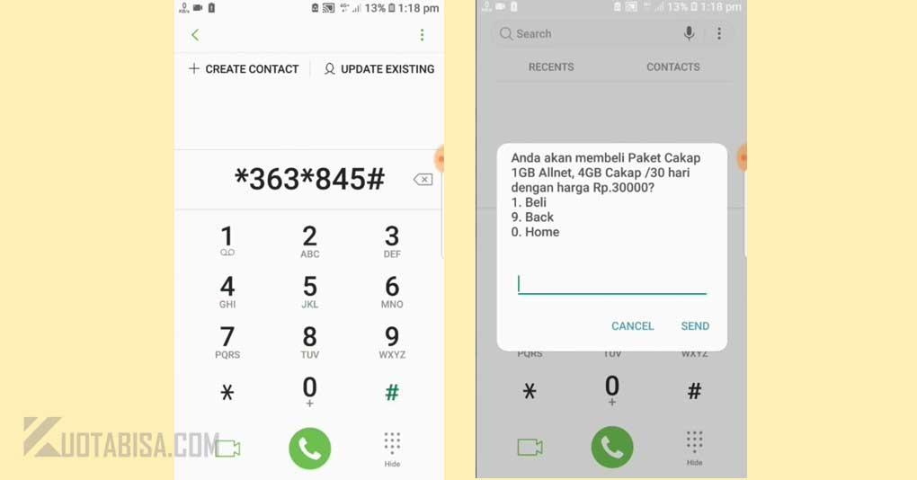 Kode Dial Telkomsel Murah 5GB harga 30 ribu