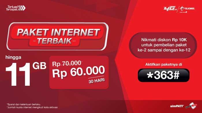 Paket Kuota Murah Telkomsel