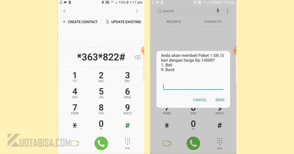 Paket Telkomsel Murah 1GB harga 14 ribu