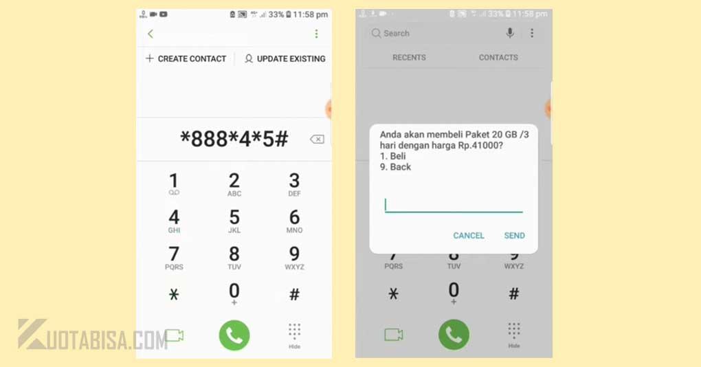 Kode Dial Simpati/ As 20GB