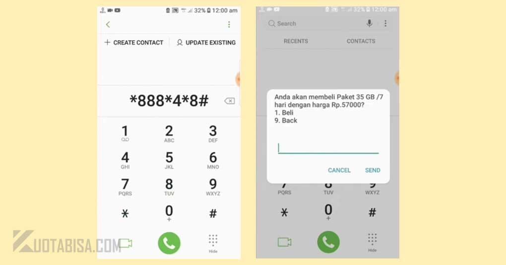 Kode Dial Telkomsel 35GB