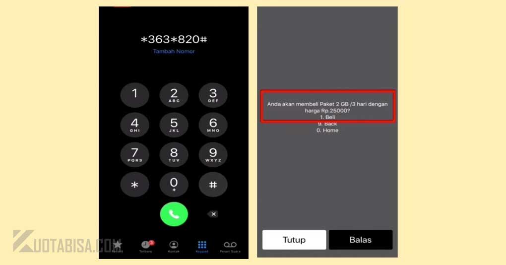 Kode Rahasia Internet Telkomsel 2GB 25ribu