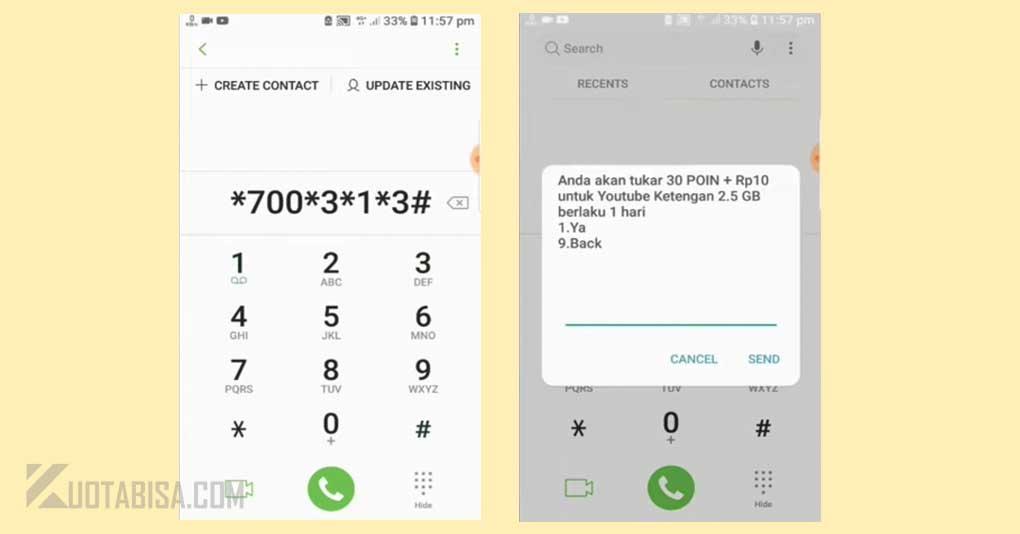 Kode UMB Murah Telkomsel 10 Rupiah