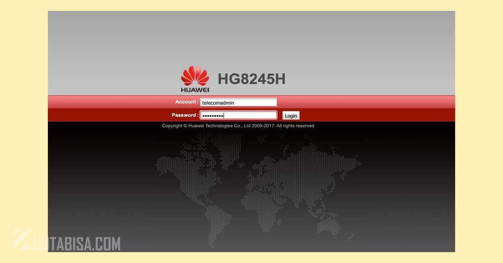 Cara Login Superadmin Huawei HG8245A