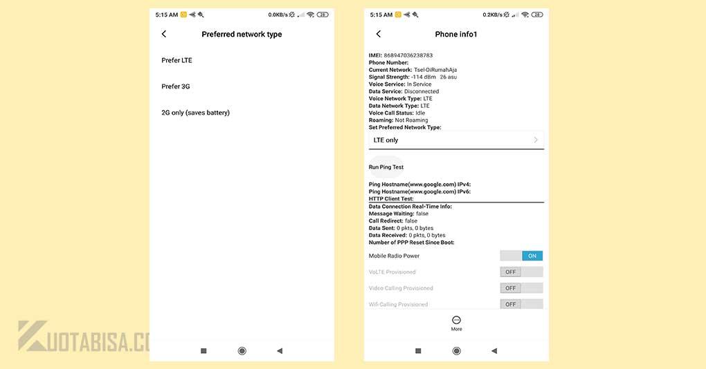 Cara Menggunakan Paket 4G Ceria