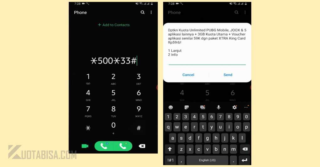 10 Kode Dial Paket Internet Xl Murah Unlimited 2020 Trik