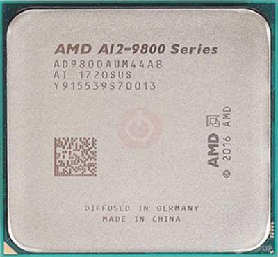 AMD 7 Gen A12-9800 APU