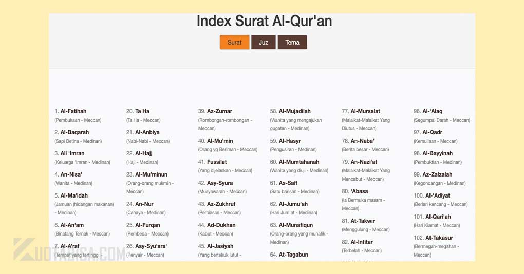 Cara Copy-Paste Quran in Word dari Situs Al-Quran