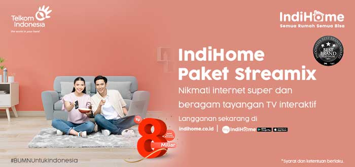 Paket Indihome Streamix
