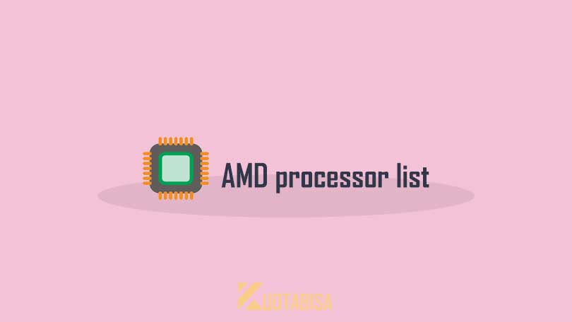 Tingkatan Processor AMD