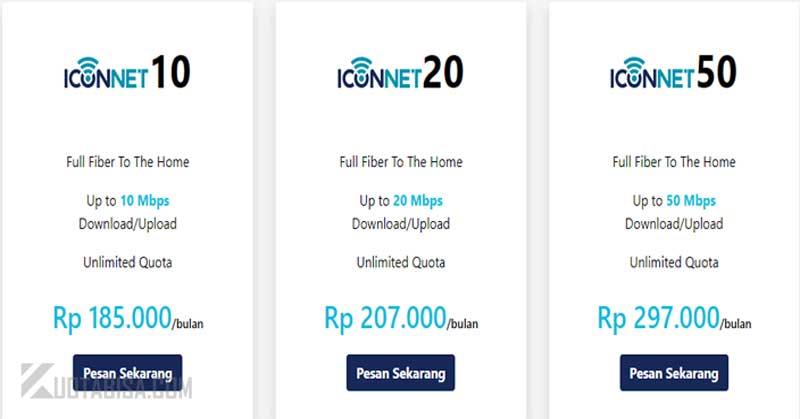 Iconnet dibawah 200 ribu